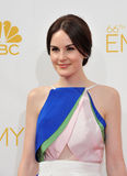 Michelle Dockery. LOS ANGELES, CA - AUGUST 25, 2014: Michelle Dockery at the 66th Primetime Emmy Awards at the Nokia Theatre L.A. Live downtown Los Angeles royalty free stock image