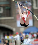 Michelle Favre - ladies pole vaulter Royalty Free Stock Image