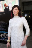 Michelle Forbes arrives at HBO's  Stock Photo