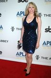 Michelle Harris at the APLA 'The Envelope Please' Oscar Viewing Party. The Abbey, West Hollywood, CA 02-22-09 Royalty Free Stock Image