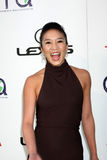 Michelle Kwan. LOS ANGELES - OCT 15: Michelle Kwan arriving at the 2011 Environmental Media Awards at the Warner Brothers Studio on October 15, 2011 in Beverly stock photo