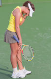 Michelle Larcher de Brito - 2009 BNP Paribas Open Royalty Free Stock Photography