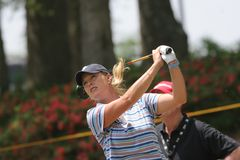Michelle Mc Gann LPGA golf Tour, Stockbridge, 2006 Stock Photography