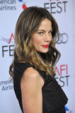 Michelle Monaghan. LOS ANGELES, CA - NOVEMBER 12, 2014: Actress Michelle Monaghan at the American Film Institute's special tribute gala honoring Sophia Loren as stock image