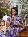 Michelle Obama Photos libres de droits