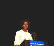 Michelle Obama Images libres de droits