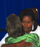 Michelle Obama Stock Afbeelding
