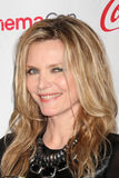 Michelle Pfeiffer arrives at the CinemaCon 2012 Talent Awards Royalty Free Stock Image