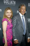 Michelle Pfeiffer and David E. Kelley Stock Photos