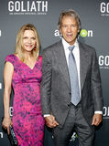 Michelle Pfeiffer and David E. Kelley Stock Photo