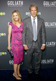 Michelle Pfeiffer and David E. Kelley Royalty Free Stock Images