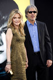 Michelle Pfeiffer and David E. Kelley Stock Image