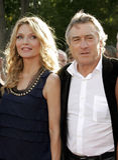 Michelle Pfeiffer och Robert De Niro Royaltyfri Fotografi