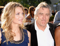 Michelle Pfeiffer, Robert De Niro Stock Photo