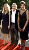 Michelle Pfeiffer, Robert De Niro och Grace De Niro Arkivbild