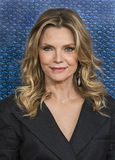Michelle Pfeiffer. Stunning actress Michelle Pfeiffer arrives for the premiere of HBO`s `The Wizard of Lies,` which is the story of financier and swindler Stock Photo