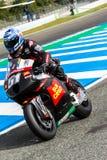 Michelle Pirro pilot of MotoGP Royalty Free Stock Image