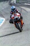 Michelle Pirro pilot of MotoGP Royalty Free Stock Photo