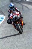 Michelle Pirro pilot of MotoGP Royalty Free Stock Photos