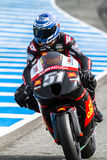 Michelle Pirro pilot of MotoGP Stock Photos