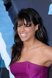Michelle Rodriguez. Singer Michelle Rodriguez at the Los Angeles premiere of her new movie 'Avatar' at Grauman's Chinese Theatre, Hollywood. December 16, 2009 royalty free stock photo