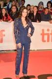 Michelle Rodriguez bij première van het Publiek bij Internationaal de Filmfestival 2018 van Toronto stock foto's