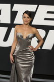 Michelle Rodriguez en vestido imponente Fotografía de archivo