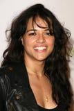 Michelle Rodriguez, Rob Dyrdek Lizenzfreie Stockfotografie