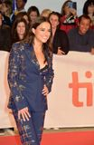 Michelle Rodriguez at the `Widows` premiere during 2018 Toronto International Film Fes. Tival TIFF18 actress red carpet fashion media hollywood actress Stock Photography
