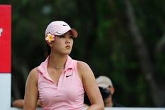 Michelle Wie à l'excursion THAÏLANDE 2010 des PTTs LPGA de Honda Photographie stock libre de droits