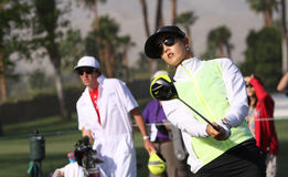Michelle Wie at the ANA inspiration golf tournament 2015 Royalty Free Stock Images