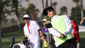 Michelle Wie at the ANA inspiration golf tournament 2015 Stock Photo