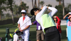 Michelle Wie at the ANA inspiration golf tournament 2015 Stock Images