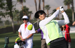 Michelle Wie at the ANA inspiration golf tournament 2015 Stock Photography