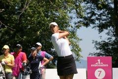 Michelle Wie bei Evian 2007 stockfoto