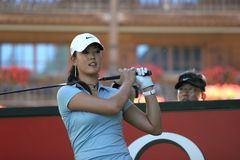 Michelle Wie, Crans Montana Masters 2006 Royalty Free Stock Photography