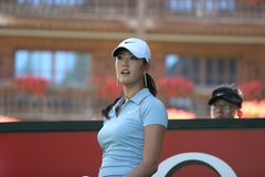 Michelle Wie, Crans Montana Masters 2006 Royalty Free Stock Photo