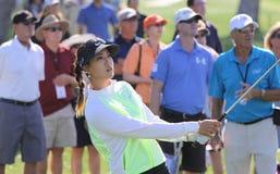 Michelle Wie en el torneo 2015 del golf de la inspiración de la ANECDOTARIO imagenes de archivo