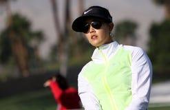 Michelle Wie en el torneo 2015 del golf de la inspiración de la ANECDOTARIO fotos de archivo libres de regalías