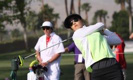 Michelle Wie en el torneo 2015 del golf de la inspiración de la ANECDOTARIO fotografía de archivo