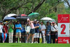 Michelle Wie at Honda PTT LPGA Tour THAILAND 2010 Royalty Free Stock Image