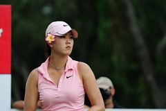 Michelle Wie at Honda PTT LPGA Tour THAILAND 2010 Royalty Free Stock Photography