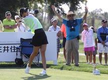 Michelle Wie przy ANA inspiraci golfa turniejem 2015 Zdjęcie Stock
