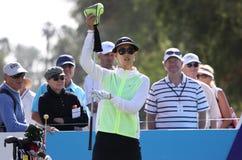 Michelle Wie przy ANA inspiraci golfa turniejem 2015 Zdjęcia Royalty Free
