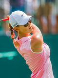 Michelle Wie at the 2013 US Women's Open Royalty Free Stock Photos