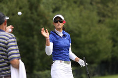 Michelle Wie (USA) Evian Masters 2011 Royalty Free Stock Photography