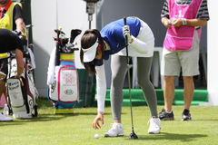 Michelle Wie (USA) Evian Masters 2011 Royalty Free Stock Image