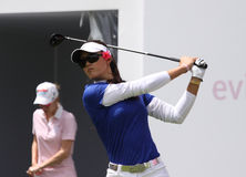 Michelle Wie (USA) Evian Masters 2011 Stock Photo
