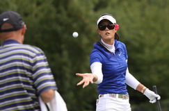 Michelle Wie (USA) Evian Masters 2011 Royalty Free Stock Images