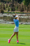 Michelle Wie usa w Honda LPGA Tajlandia 2016 Zdjęcia Stock